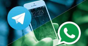 """Telegram """"troleó"""" a WhatsApp por sus nuevos términos y condiciones (MEMES)"""