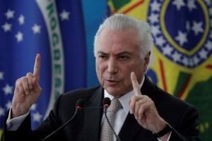 Juez en Brasil absolvió al expresidente Michael Temer de un caso de corrupción