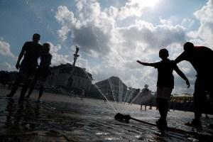 Europa asfixiada y en alerta por la ola de calor (fotos)