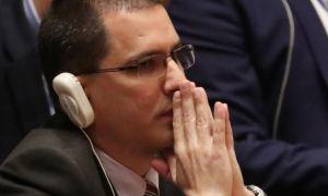 Jorge Arreaza tuvo otro arranque de malcriadez por nuevas sanciones contra Alex Saab