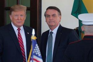 Donald Trump cenará con Jair Bolsonaro en su residencia privada de Florida