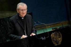 Cardenal Pietro Parolin pidió una negociación seria y limitada en Venezuela