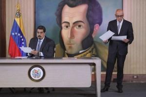 Maduro confirmó que voceros del régimen se reunieron a solas con mediadores de Noruega