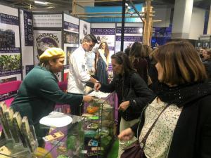 Fundatierra deja en alto el cacao venezolano en el Salon du Chocolat de París