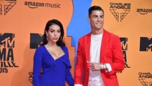 Esposa de Cristiano Ronaldo encanta en las redes con un extraño movimiento de nalgas
