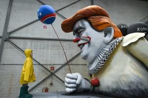 En imágenes: Las polémicas carrozas para el Carnaval de Alemania