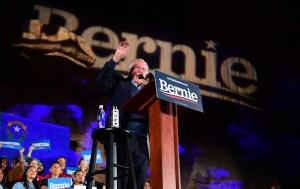 El candidato Bernie Sanders venció en las primarias demócratas de Nevada