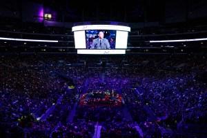 Familiares, fanáticos y jugadores rindieron un último homenaje a Kobe Bryant (Fotos)