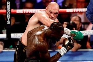 Tyson Fury aplastó a Deontay Wilder con un nocaut técnico en Las Vegas (Video)
