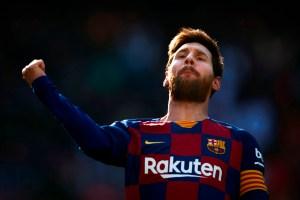 En medio de protestas contra Bartomeu, Messi le regala la calma al Barcelona (FOTOS)
