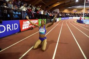 Barcelona felicitó a Yulimar Rojas por su nueva marca mundial en pista cubierta