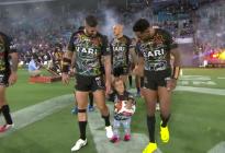 Quaden, el niño que sufrió acoso, recibió homenaje en el Juego de Estrellas del rugby australiano (Video)