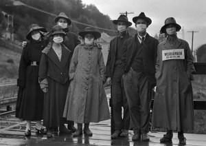 Fotos históricas de la Gripe Española que muestran cómo era una pandemia en 1910