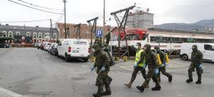 Policía española comparte con América su experiencia en desinfectar calles
