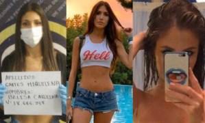 """Filtraron """"pack"""" de fotos íntimas de Belisa Cartes, la modelo de la fiesta en Los Palos Grandes"""