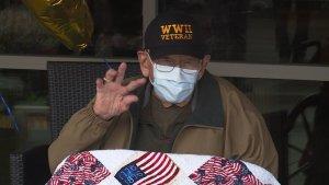 Un veterano de la Segunda Guerra Mundial de 104 años, la persona más longeva que vence al coronavirus