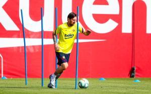 Misterio por la ausencia de Messi en el entrenamiento general del Barcelona a días del regreso de La Liga