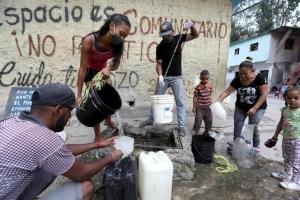 La falta de agua, un obstáculo para lavado de manos durante pandemia en Venezuela (Fotos)