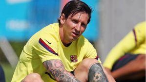 Lionel Messi encendió las alarmas a días del regreso de La Liga