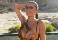 Cocos, desierto y mucho calor: Las nuevas fotos calientes de Kylie Jenner en Instagram