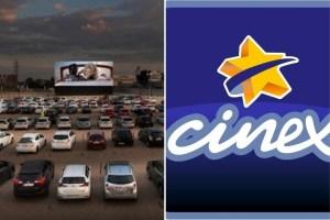 ¿Vale la pena? Las primeras FOTOS de los autocines de Cinex en Caracas