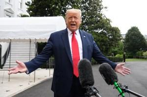 Trump pospuso su mitin electoral en New Hampshire debido a la tormenta tropical Fay