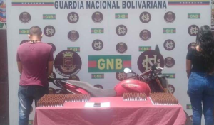 GNB captura a una pareja que trasladaba municiones de guerra en Táchira (Fotos)