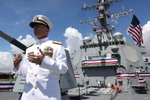 Almirante Faller: EEUU no está interesado en una base militar en Guyana ni el Caribe