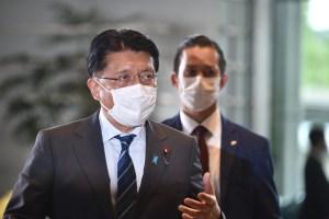 VIRAL: Pillaron a un diputado japonés viendo un video de cocodrilos en plena sesión (FOTO)