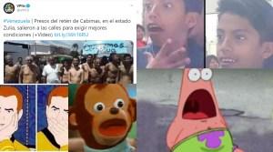 "¿Presos salieron a la CALLE a protestar? Así reaccionó ""Twitterzuela"" a la insólita noticia (MEMES)"