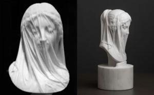 """¿Qué hay tras el delicado """"velo"""" de una de las esculturas más representativas de la virgen María?"""