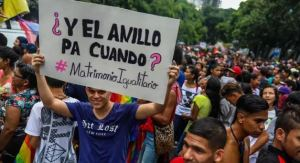 """Maduro dejó en manos del """"próximo Parlamento"""" la decisión sobre el matrimonio igualitario"""