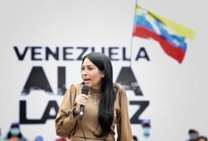 Delsa Solórzano: La respuesta del régimen siempre será violencia junto con fraude, trampa y robo