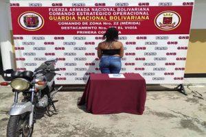 Detuvieron a una mujer en Mérida por transportar cocaína en sus partes íntimas