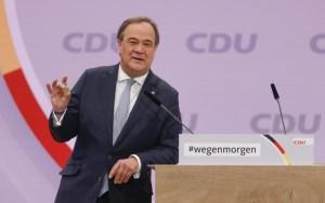 Armin Laschet gana elección como nuevo presidente de la CDU, el partido de de Angela Merkel