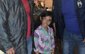 Fue liberada Antonella Maldonado, niña de cuatro años secuestrada en Táchira (Foto)