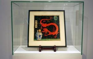 """Tras años guardada, venden pintura de la portada original del libro de caricaturas """"El Loto Azul"""" de Tintín"""