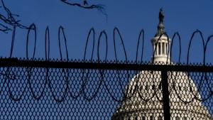 ¡Con extrema seguridad! Así se prepara Washington para la toma de posesión de Biden (VIDEO)