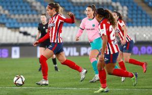 Deyna Castellanos aportó en la clasificación del Atlético a la final de la Supercopa (Video)
