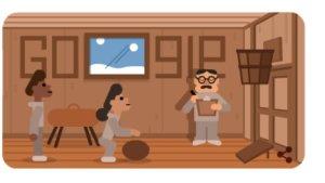 Google homenajea con un doodle a James Naismith, creador del baloncesto