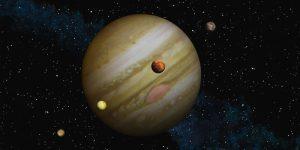 Increíbles FOTOS captadas por la sonda Juno de una luna gigante de Júpiter
