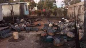 Ascendieron a siete las víctimas por la explosión de bombonas de gas en Monagas