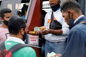 Transportistas piden aumentar el pasaje urbano a un millón 500 mil bolívares