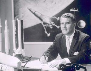 El pasado nazi del hombre que llevó a EEUU a la Luna