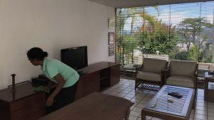 Limpiar casas es un oficio que en cuarentena se ha hecho muy popular