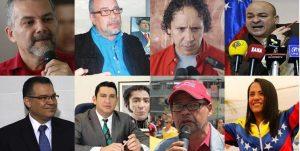 """Candidatos a """"rectores"""" del CNE írrito destacan por su currículo chavista"""
