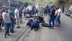 Accidente en la carretera Panamericana dejó un muerto y un herido este 9 de abril