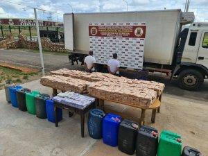 Detenidos militares en Bolívar por trasladar cajas repletas de efectivo y pimpinas de diésel (Foto)