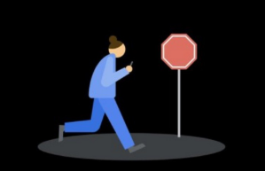 Google les pedirá a sus usuarios que dejen de mirar el celular mientras caminan