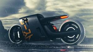 """Presentaron el diseño de una futurista """"Supermoto Fantasma"""" (Fotos)"""